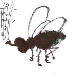 Gemütliche Fliege