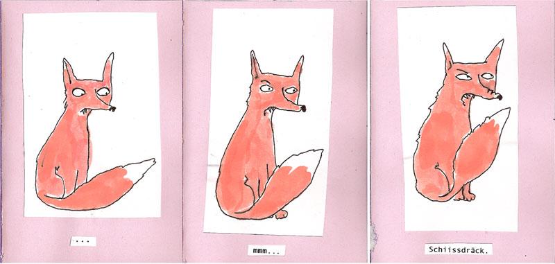 Der kleine Fuchs...